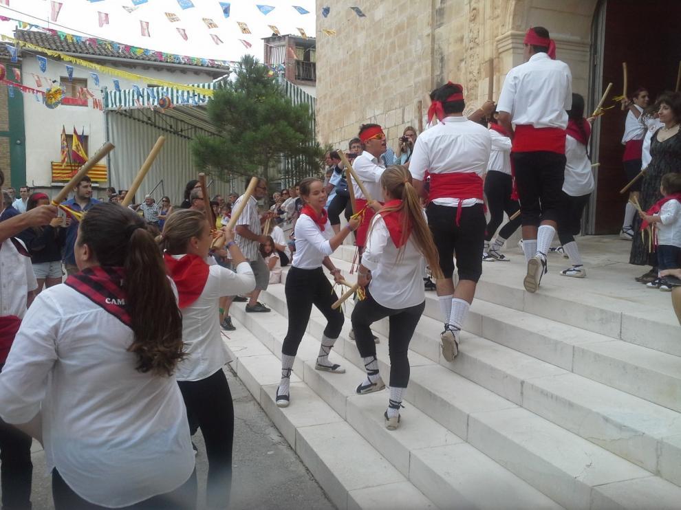 "El ""Ball dels Totxets"" de Camporrells es declarado Fiesta de Interés Turístico de Aragón"