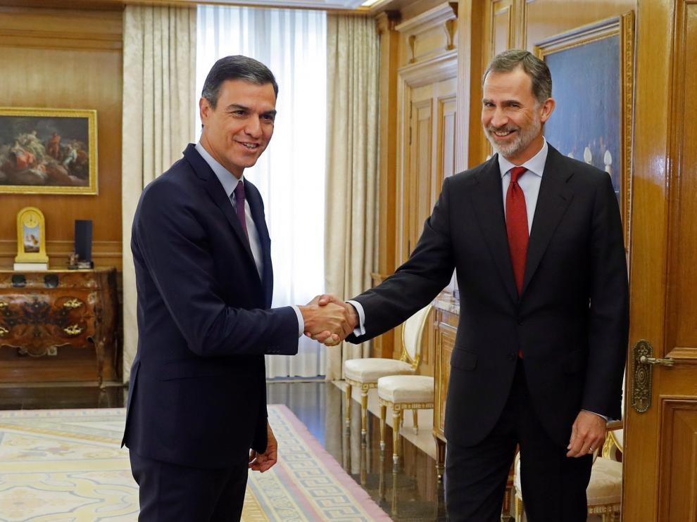 Pedro Sánchez acepta el encargo del Rey de formar Gobierno