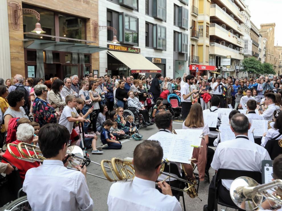 La magia del séptimo arte convierte a Huesca en un escaparate al mundo