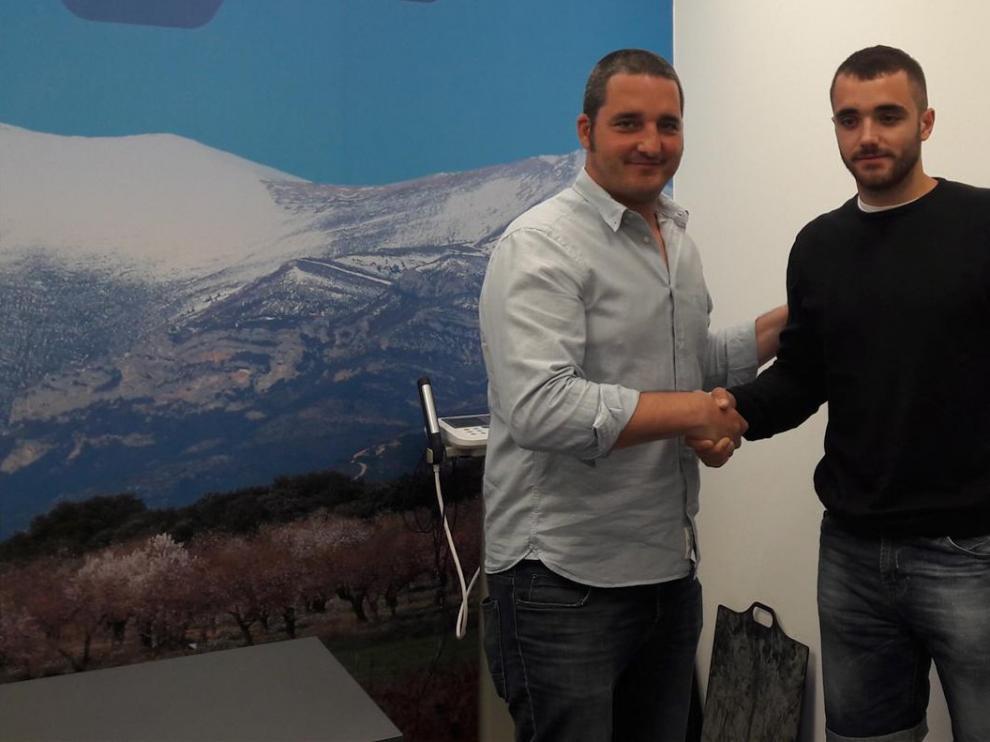Asier Nieto, un primer fichaje del Bada Huesca con calidad y futuro