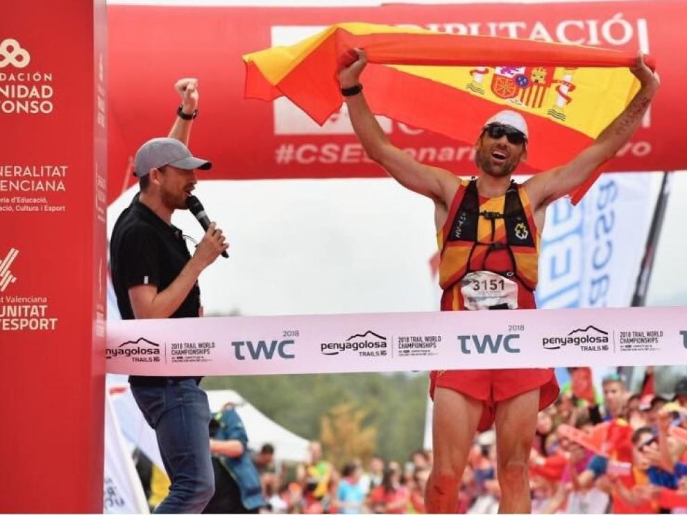 Luis Alberto Hernando busca su cuarto título mundial consecutivo de carreras por montaña