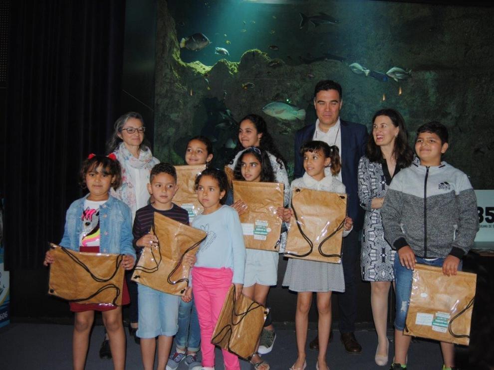 La Once premia a los CRA Alta Ribagorza y A Redolada y el IES Monegros Gaspar Lax
