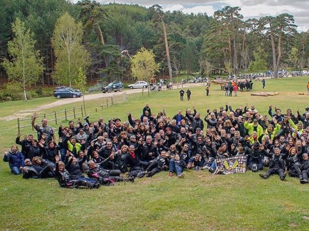 Encuentro internacional en Huesca de propietarios de Shadow Honda