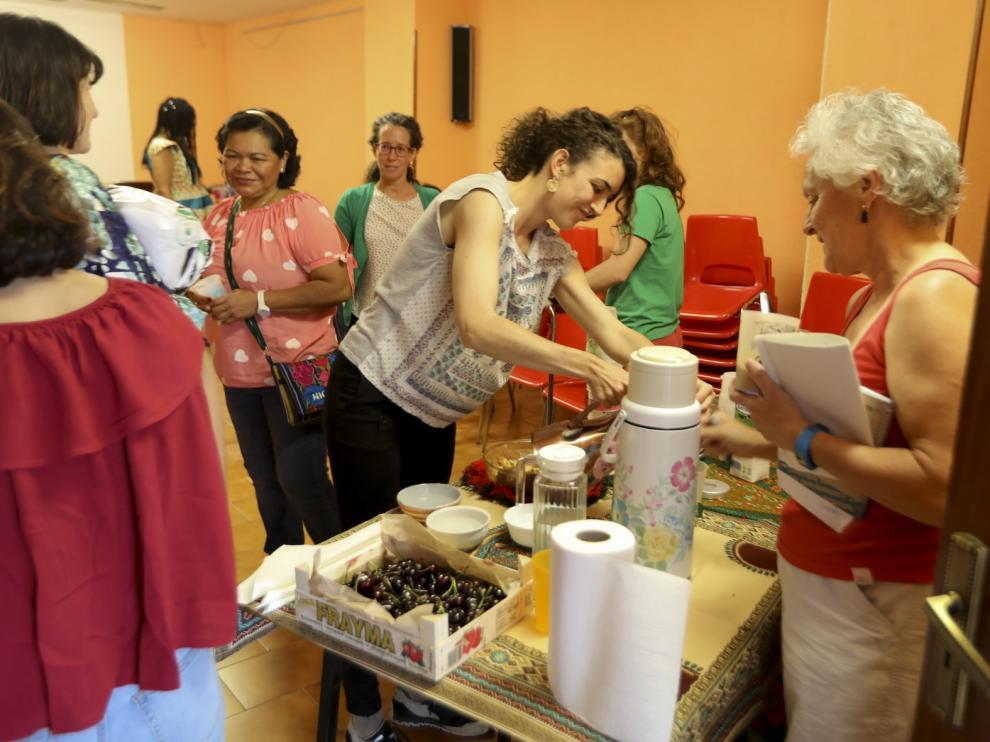 Las trabajadoras del hogar reivindican en Huesca mejoras salariales y laborales