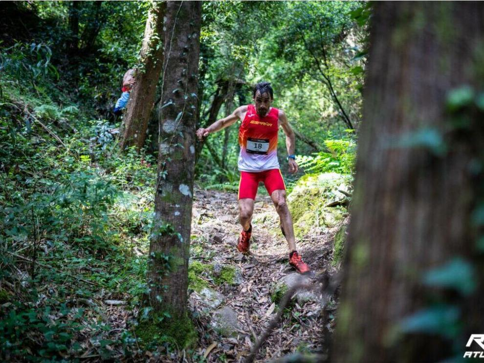 Hernando, undécimo en el Mundial de trail disputado en Portugal