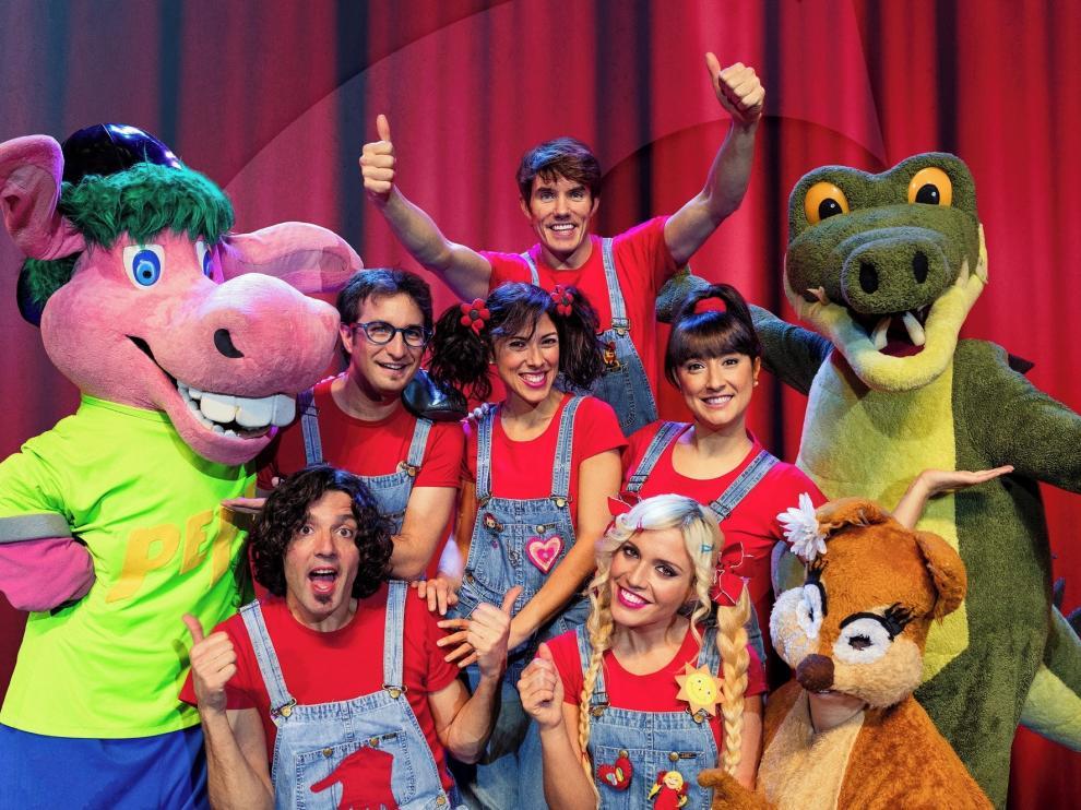 Los Cantajuegos presenta este domingo en Huesca sus grandes éxitos