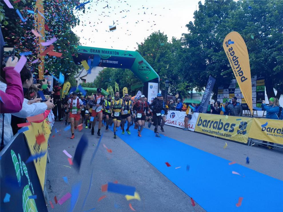 Triunfos para Nacho Cabal y Nuria Sierra en el Gran Maratón Montañas de Benasque