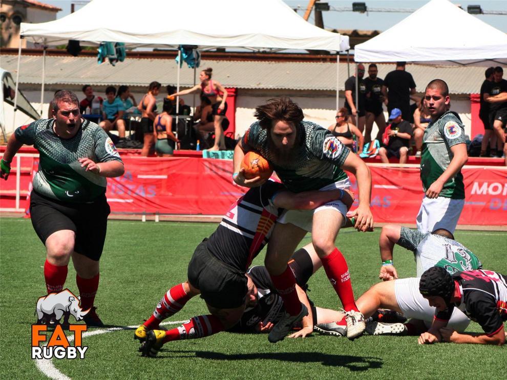 Pottolak y Fattedi Neskak ganan La IV edición del Torneo Fat Rugby de Monzón