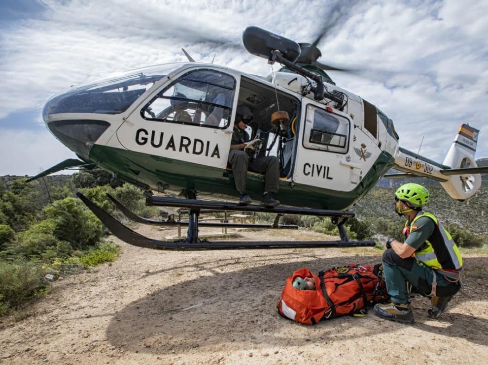La Guardia Civil realiza cuatro rescates este sábado en el Pirineo oscense