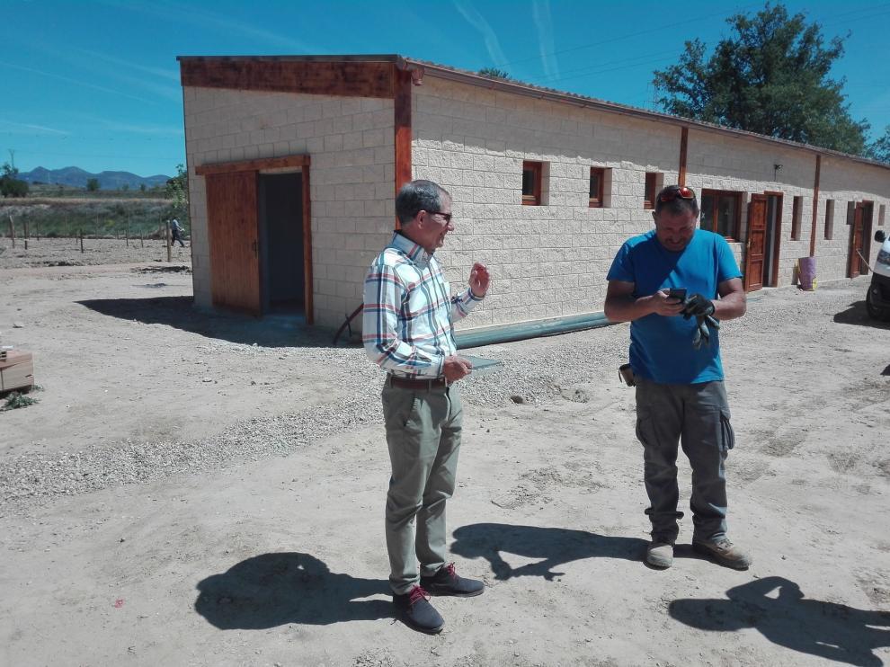 La Fundación Calasanz pone en cultivo una zona de huertos ecológicos