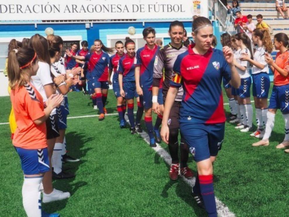 El Huesca femenino cierra la temporada sin conocer la derrota