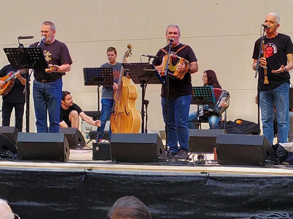 La Ronda de Boltaña anima el festival Secastilla Folk