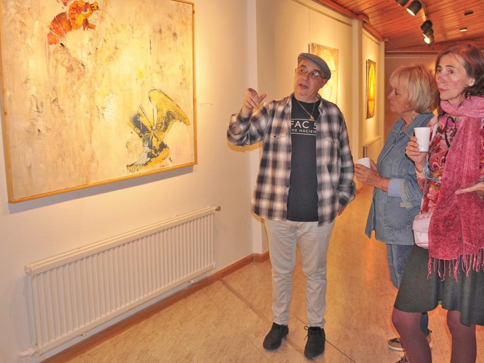 Juan Luis Borra muestra en Jaca su personal visión de los mitos clásicos