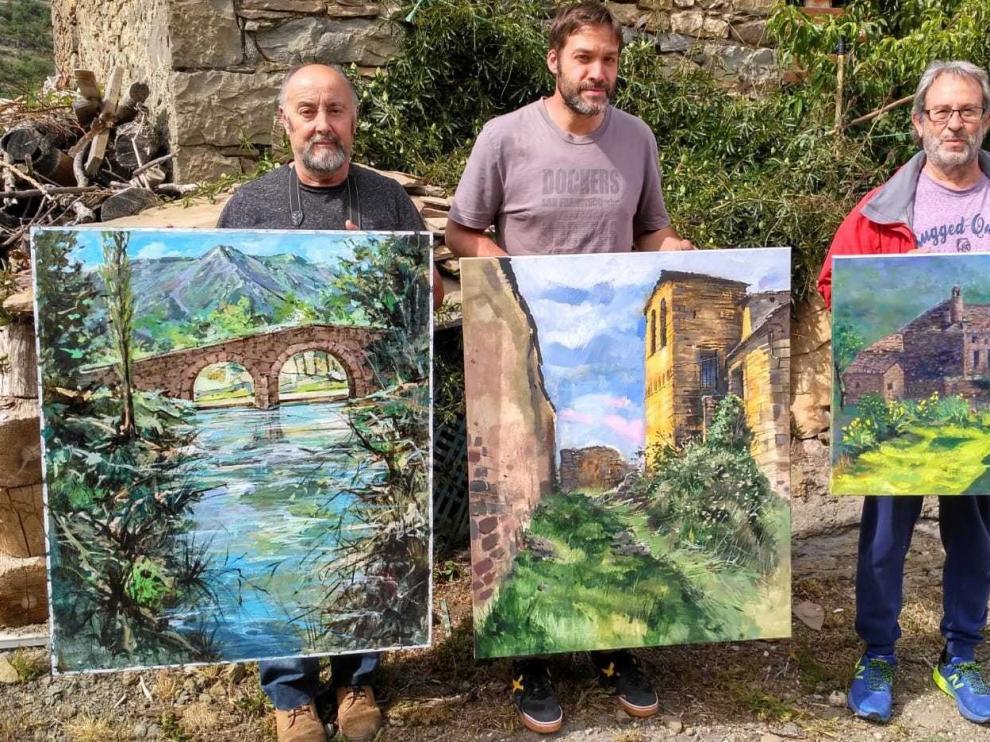 Javier Riaño gana el XIV Concurso de Pintura Rápida de Belsué
