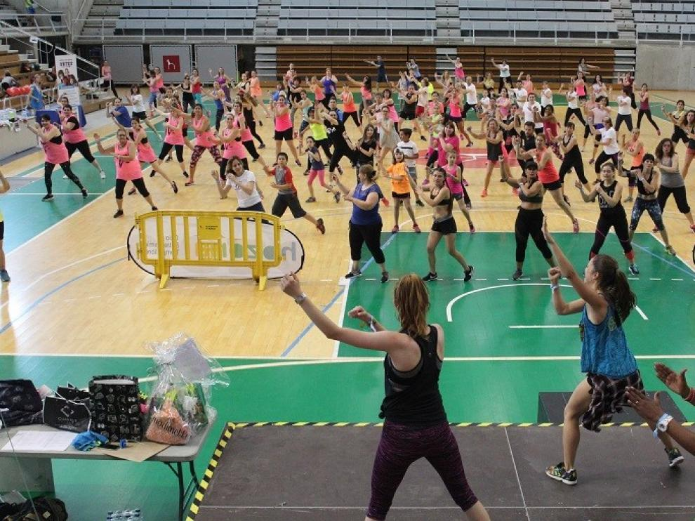 Huesca volverá a bailar zumba este domingo por los niños con cáncer de Aragón