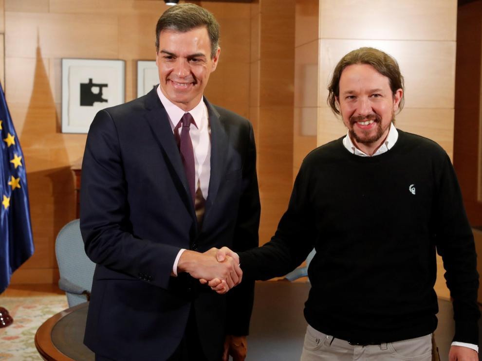 Iglesias mantiene que Podemos debe estar en el Ejecutivo, y que el nombre de Gobierno de Cooperación es lo de menos