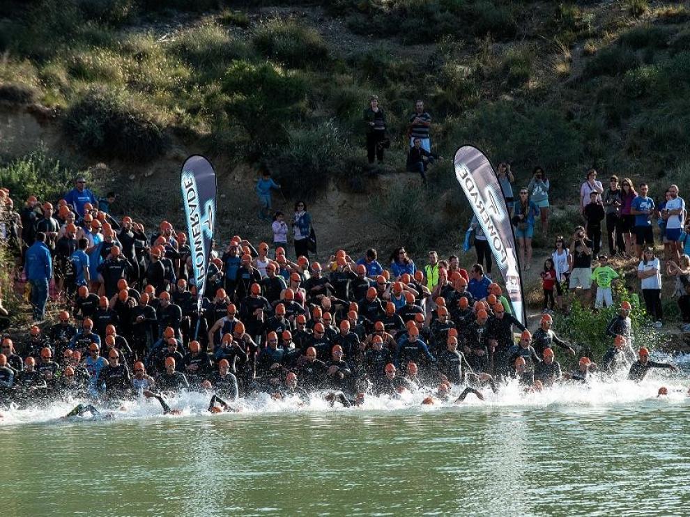 Más de cien atletas participarán en el VII Triatlon Sprint de San Juan del Flumen