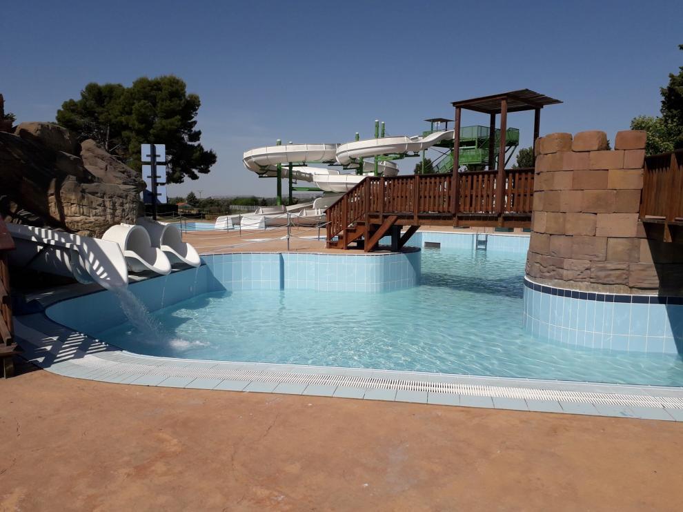 El parque acuático de Monzón reabre sus puertas este miércoles