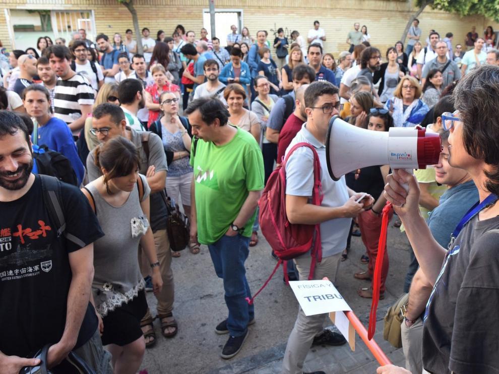 Casi 4.000 inscritos aspiran a una de las 351 plazas de maestro en las oposiciones en Huesca