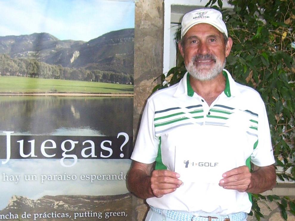 Fernando Tresaco gana la quinta prueba de la Liga de Golf Guara
