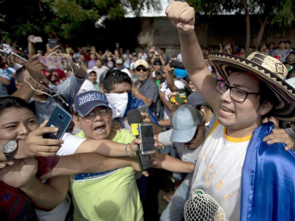 El Gobierno de Ortega libera a un grupo de presos políticos
