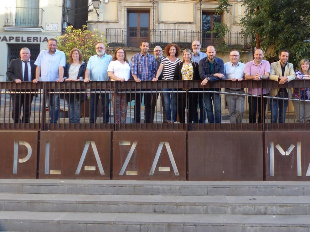 El Ayuntamiento de Monzón rinde homenaje a José Martín Martín en el último pleno del mandato