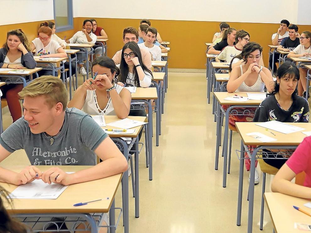 El 95 % de los alumnos de la provincia de Huesca supera la prueba de acceso universitario