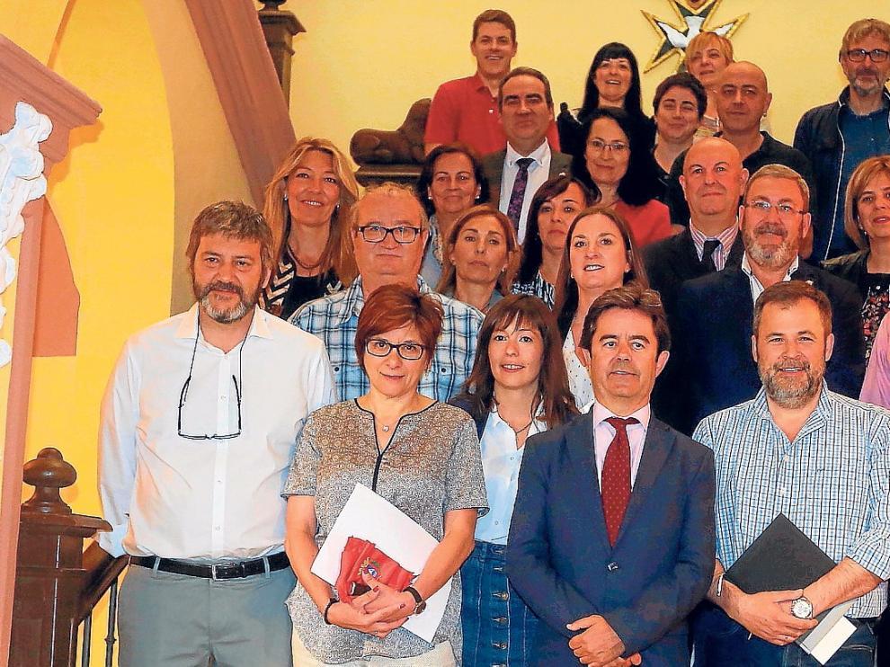 El Ayuntamiento de Huesca celebra el último pleno del mandato y el sábado se constituye el nuevo