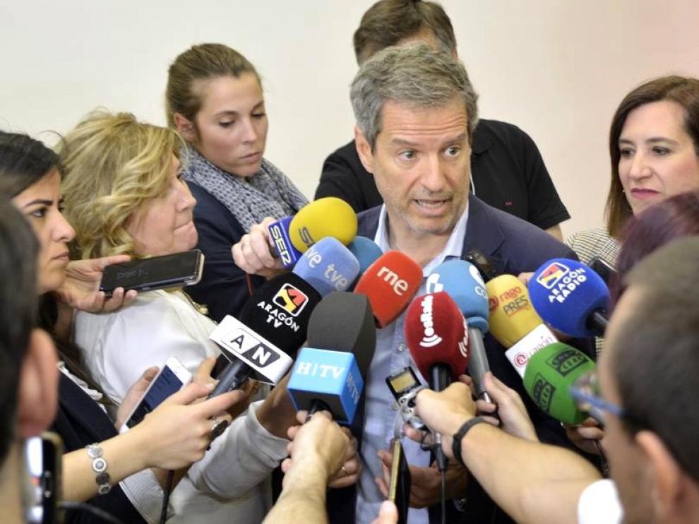 Cs Aragón apela al PAR que este jueves firma un acuerdo con el PSOE