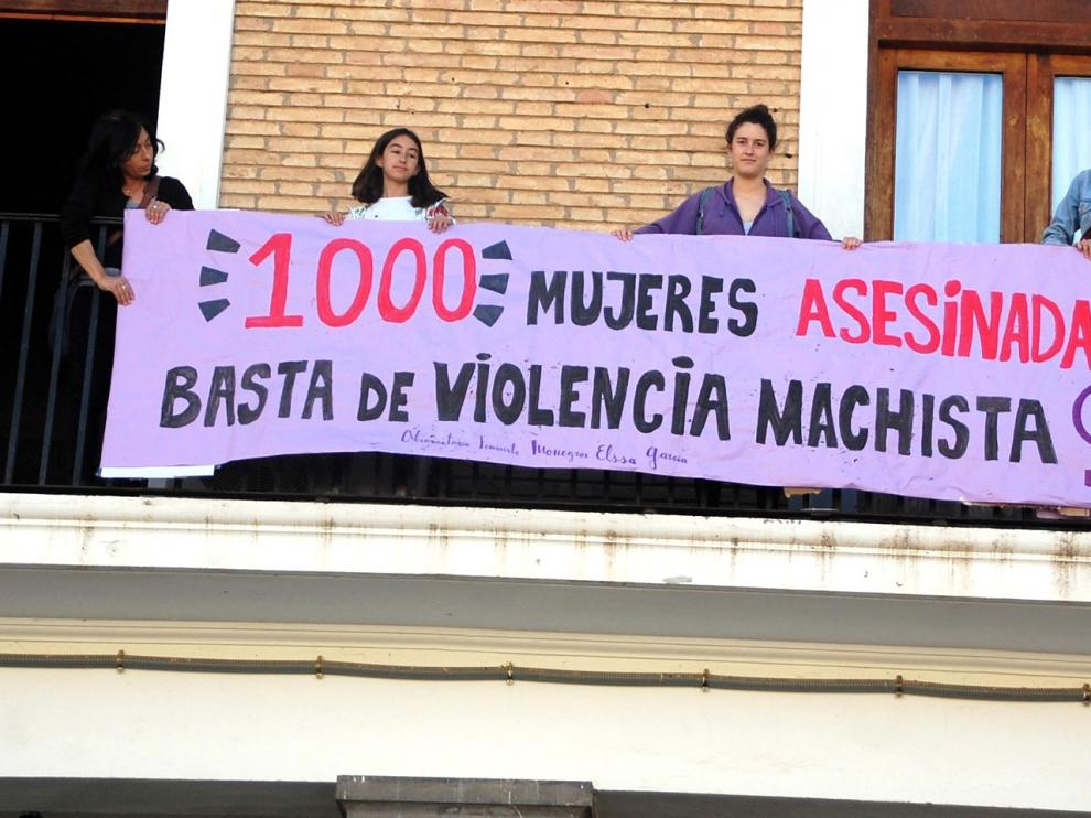 """Observatorio Feminista Monegros """"Elisa García: """"No caeréis en el olvido"""""""