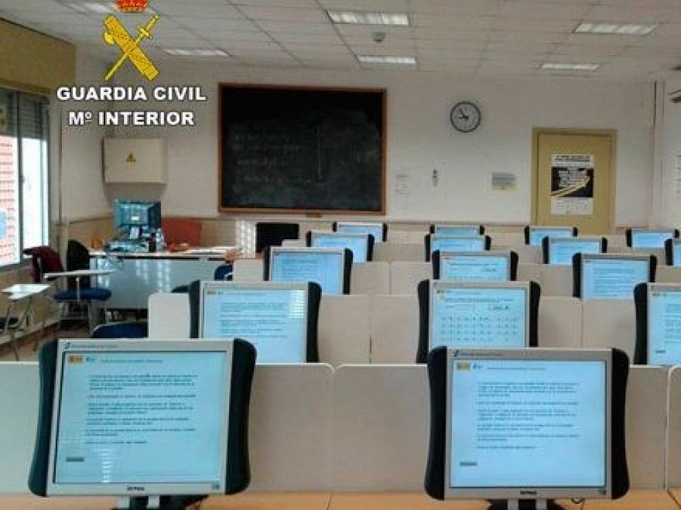 Tres investigados en Huesca por supuestos delitos al presentarse a la obtención del permiso de conducir
