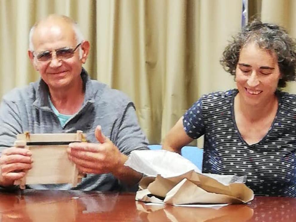 Biscarrués homenajea a Pepe Torralba su alcalde durante los últimos 28 años
