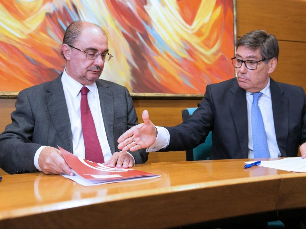 Lambán no da por perdidas las capitales de las tres provincias