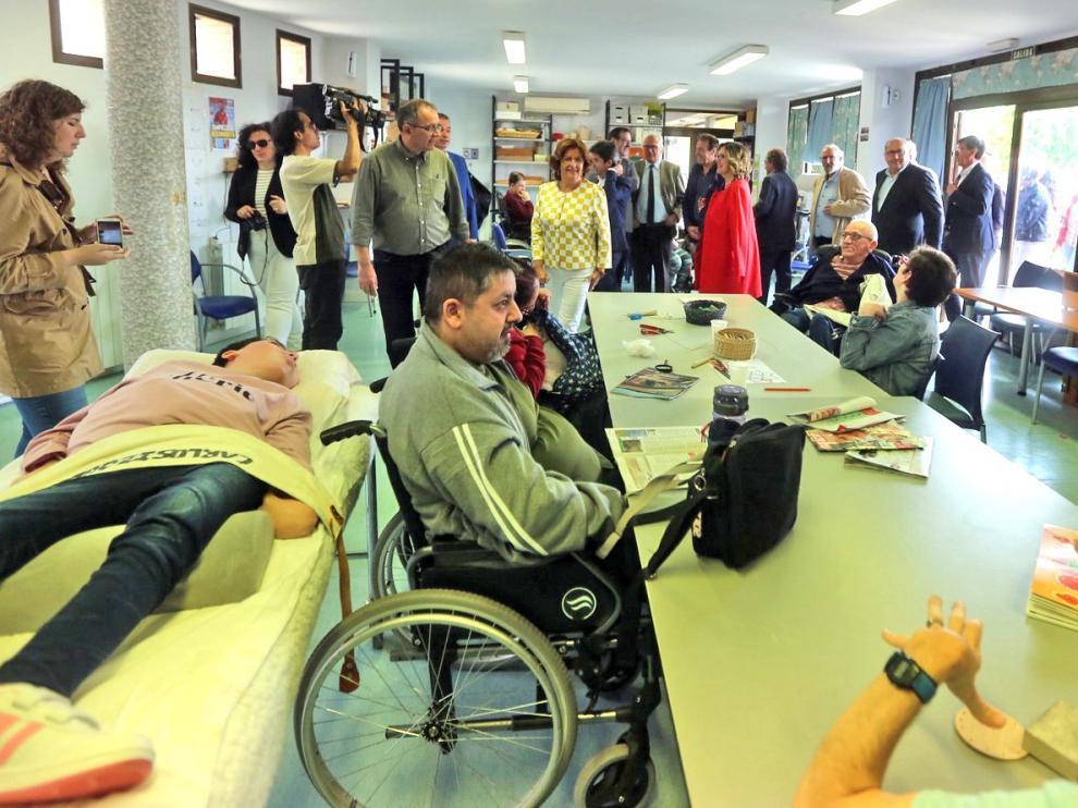 Aspace consigue 81.523 euros para ampliar su comedor y rinde cuentas de su séptima marcha