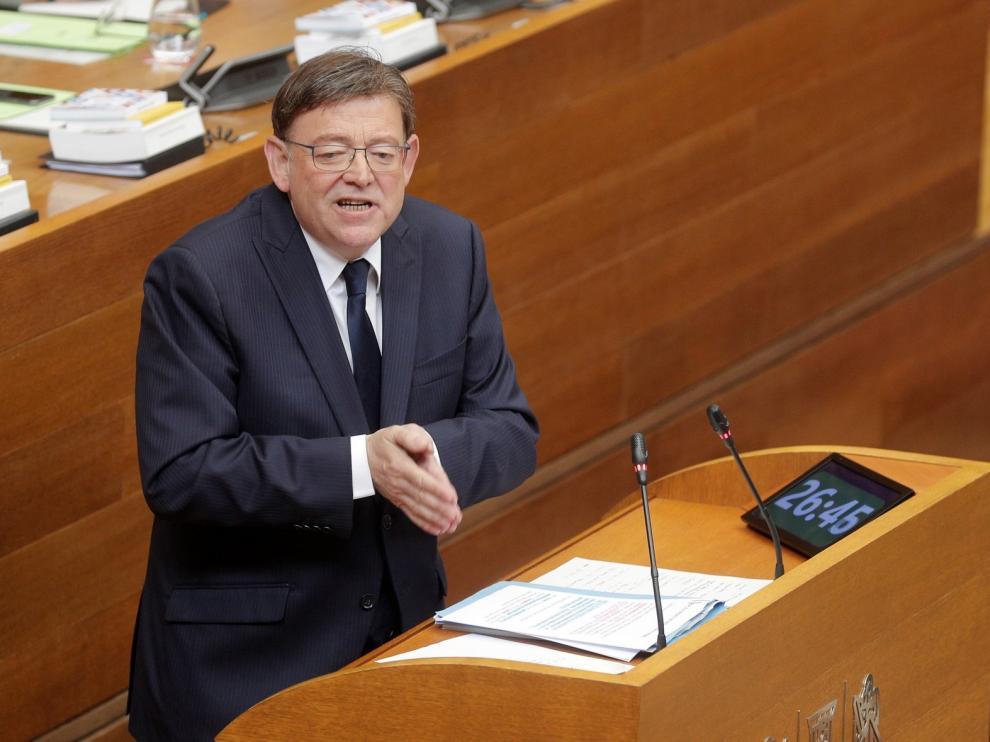 Puig, elegido por segunda vez presidente de la Generalitat Valenciana