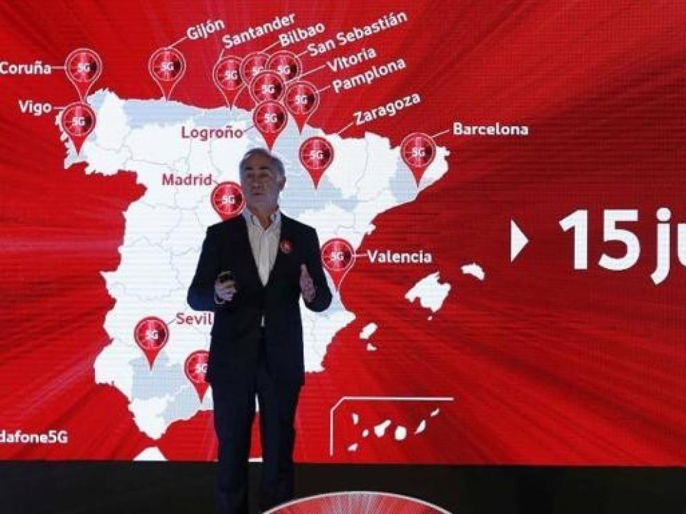 Vodafone enciende este sábado la primera red comercial 5G de España en 15 ciudades