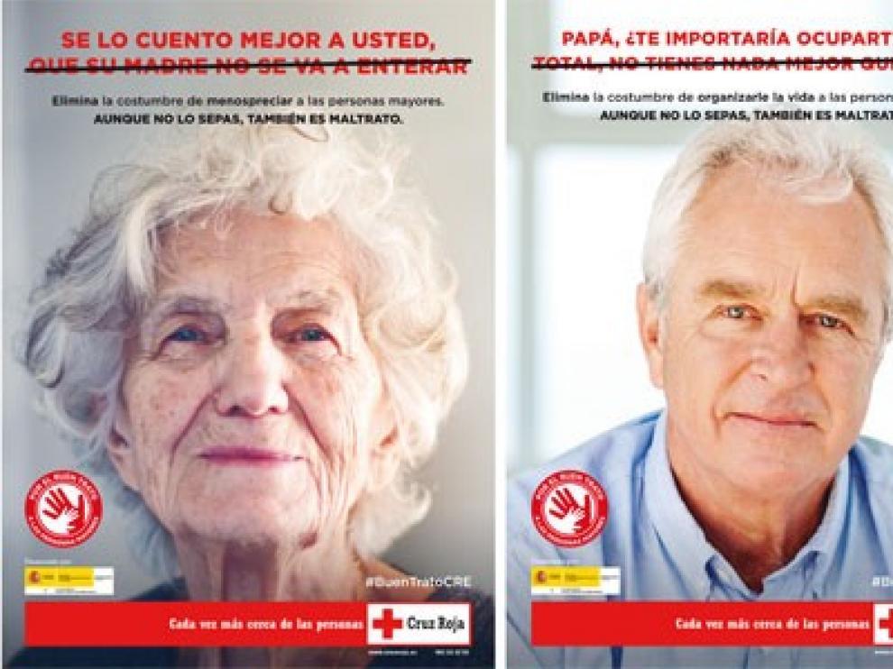 Cruz Roja impulsa una campaña en redes sociales sobre el buen trato a las personas mayores