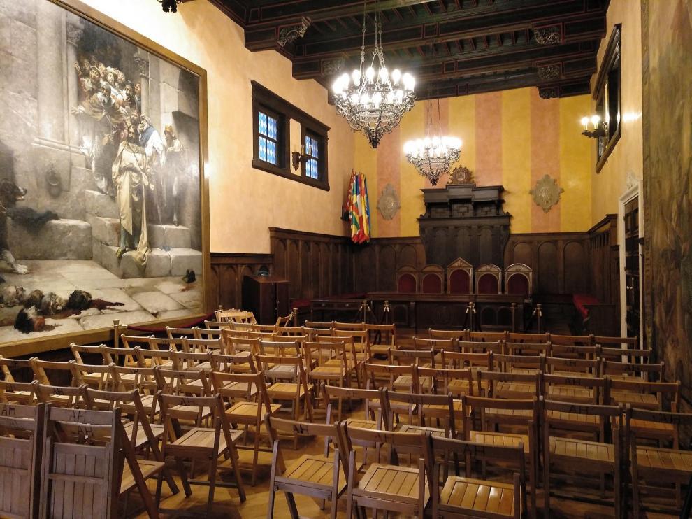 La Alcaldía oscense depende de los pactos fuera de Huesca