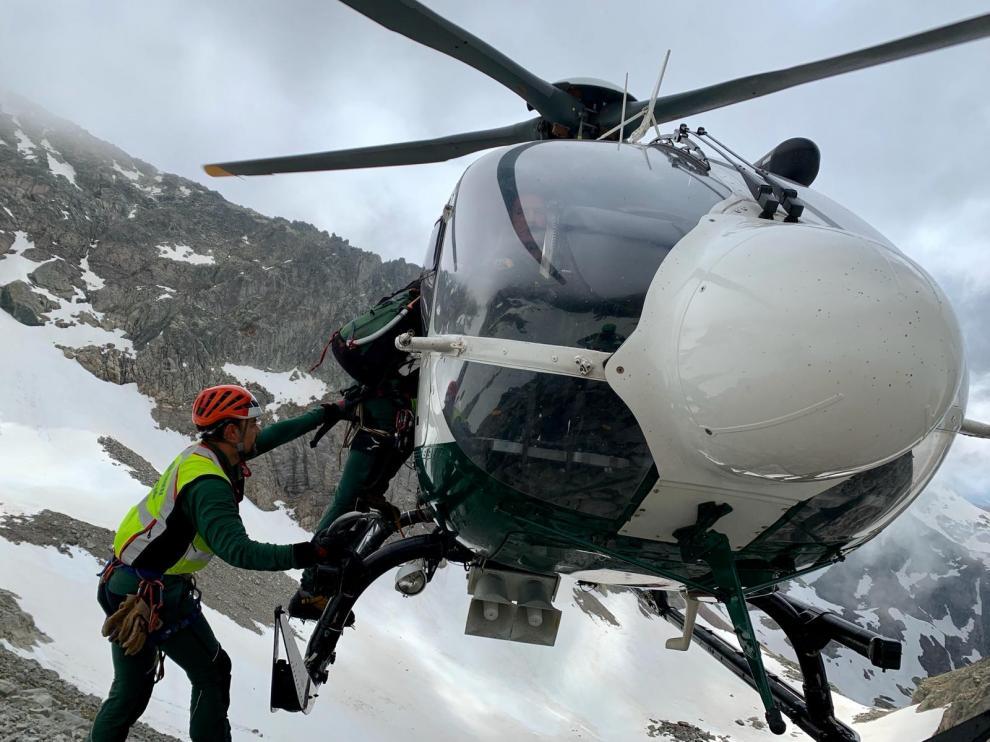 Fallece un montañero tras precipitarse cuando descendía el Pico Balaitous por la gran Diagonal