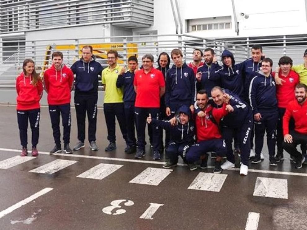 El Huesca Genuine despide su temporada en Valencia
