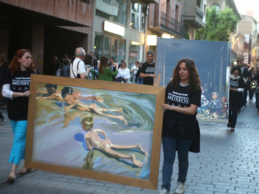 ¡Menudo arte! toma la calle y recorre el Coso Alto de la capital altoaragonesa