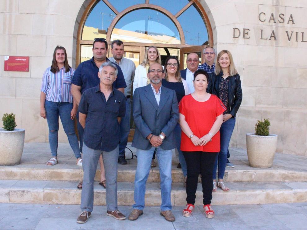 Francisco Mateo presidirá la corporación municipal de Tamarite de Litera por quinta vez consecutiva