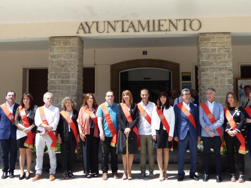 La socialista Berta Fernández continúa en el Ayuntamiento de Sabiñánigo con mayoría absoluta