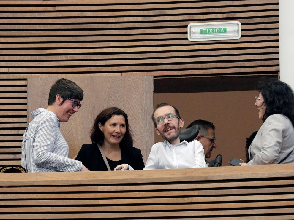 """Pablo Echenique insiste en que es posible un Gobierno """"compartido"""""""