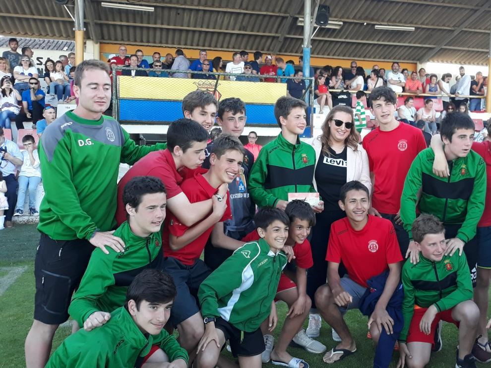 El Día del Deporte de Almudévar reunió a más de 500 niños