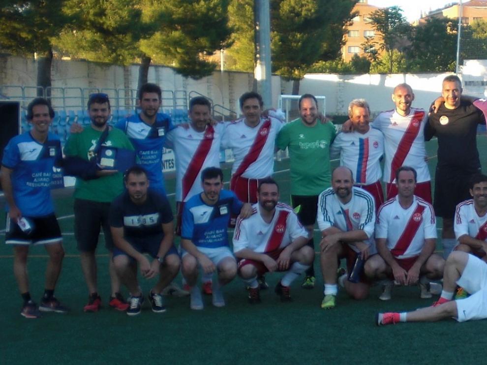 Encuentro entre equipos de Tarbes y Huesca
