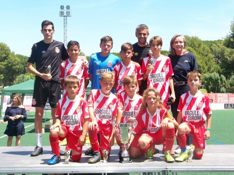 El Girona sorprende y gana en Fraga
