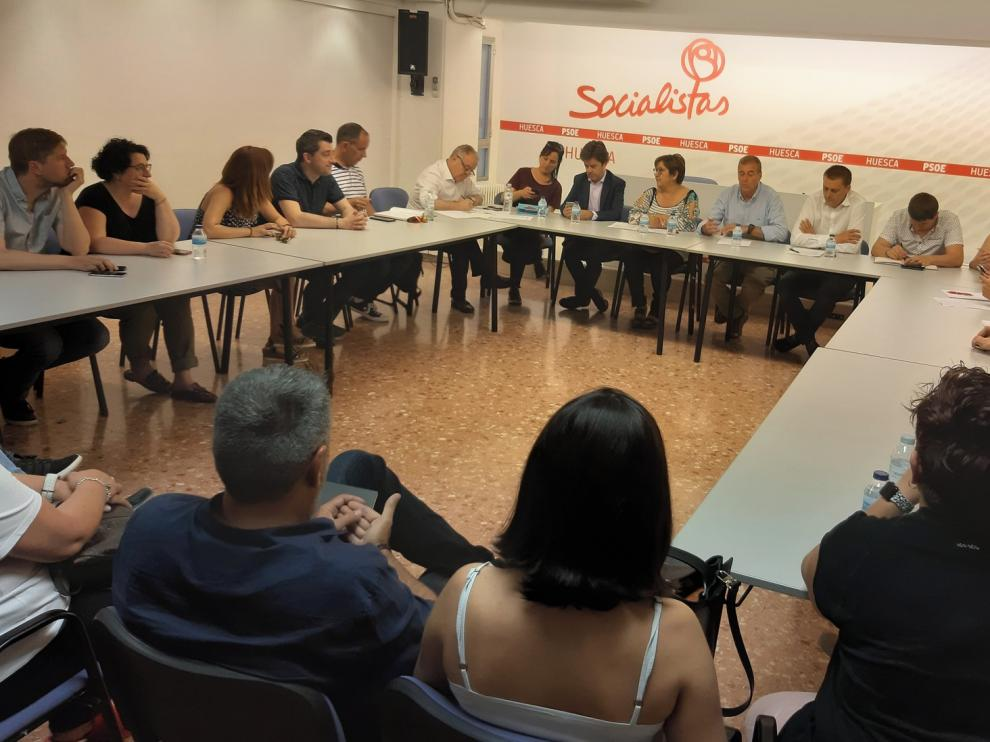 Ocho diputados del PSOE repetirán en la nueva corporación provincial