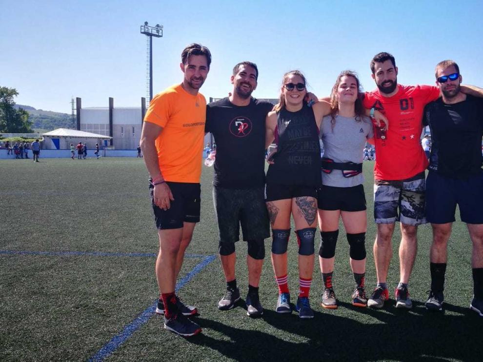 Buena experiencia de los equipos del Fitness DR de Huesca en el ProGames de Santander