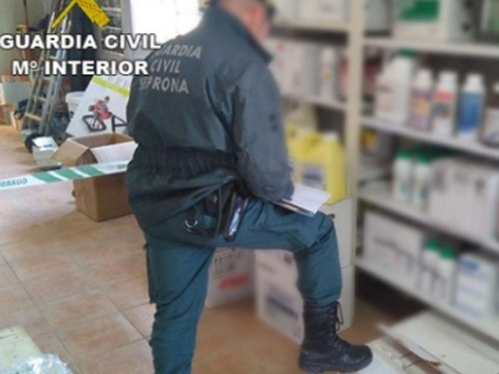 Un detenido en Huesca, por el uso ilegal de pesticidas agrícolas dañinos para el medio ambiente